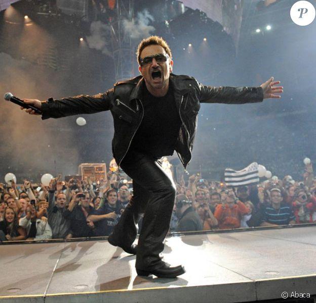 Bono et son groupe U2 ont mis le feu au Stade de France lors d'un concert exceptionnel le 19 septembre 2010