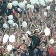 Bono et U2 lors du concert exceptionnel donné au Stade de France le 18 septembre 2010