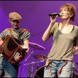 Jane Birkin lors du concert Rock sans papiers le samedi 18 septembre en soutien aux travailleurs et familles sans papiers.