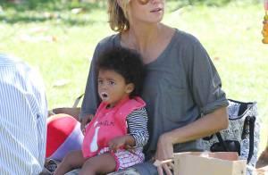 Heidi Klum : Après sa folle fashion week, elle retrouve ses adorables bambins !