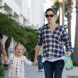 Jennifer Garner et Violet (23 septembre 2010 à Los Angeles)
