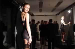 Les plus beaux mannequins et sous-vêtements de la fashion week italienne !