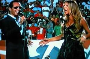 Quand Fergie prend la place de Jennifer Lopez... Marc Anthony a l'air ravi !