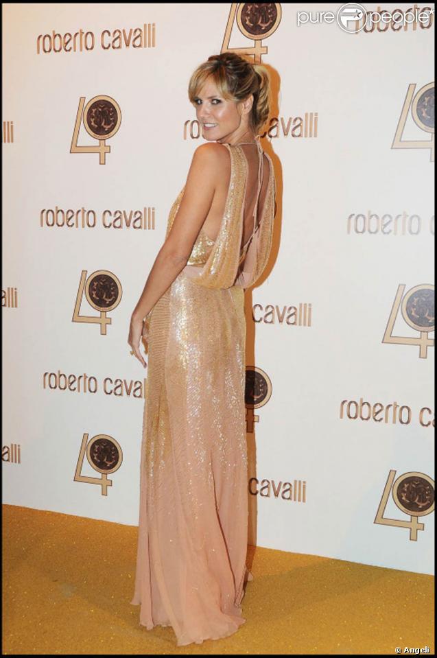 Le top model allemand Heidi Klum