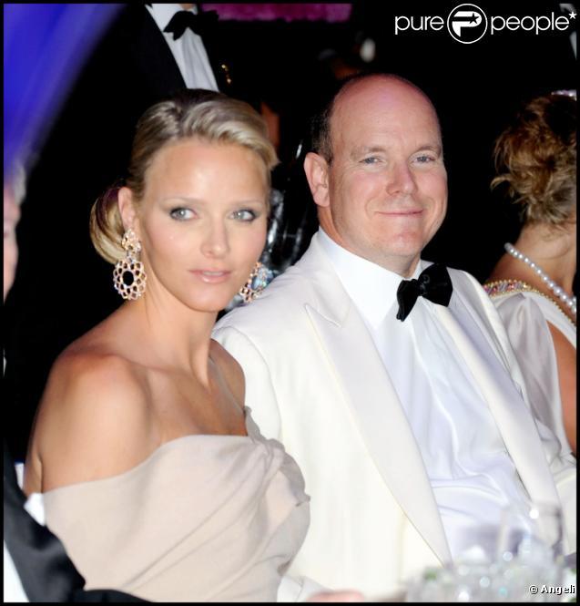 Charlene Wittstock et le prince Albert de Monaco