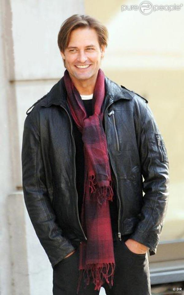 Josh Holloway sur le tournage de  Mission Impossible 4 , à Prague, en octobre 2010.