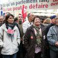 Les grèves à Paris du 16 octobre 2010 contre la réforme du système des retraites