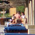 Lady Gaga en vacances avec son boyfriend Luc Carl en Crète le 5 octobre 2010