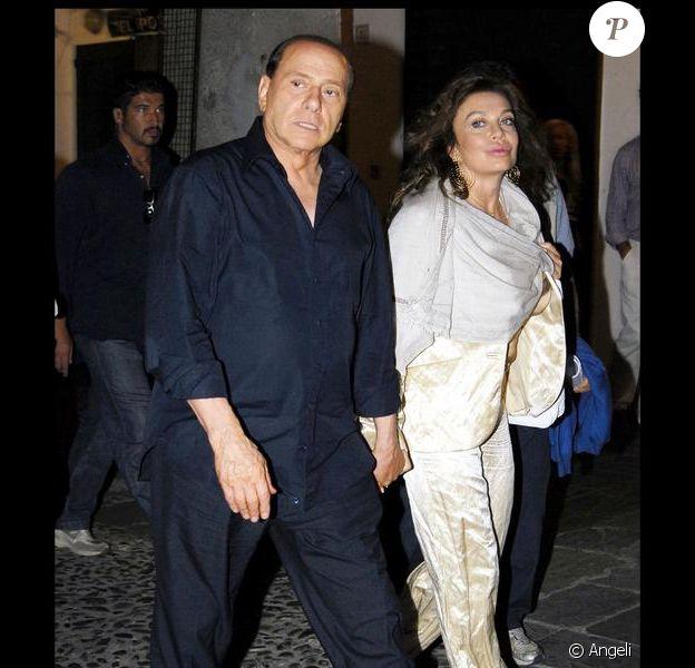 Silvio Berlusconi et son épouse Veronica
