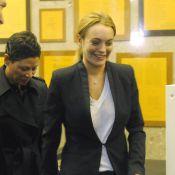 """Lindsay Lohan, libre, peut dire """"merci"""" au juge avant de retourner en rehab' !"""