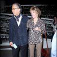 Richard Perry et Jane Fonda à la soirée de lancement du nouvel album de Rod Stewart au Madeo, dans West Hollywood, le 22 octobre 2010