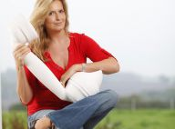 Penny Lancaster : Un vrai marathon pour la femme, enceinte, de Rod Stewart !