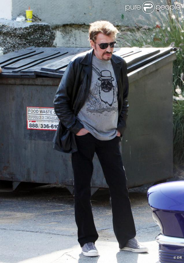 Johnny Hallyday à Los Angeles