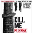 L'affiche du film d'Olias Barco, Kill Me Please