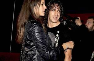 Carles Puyol : Soirée romantique avec sa belle Agnes !