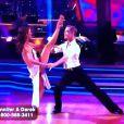 Jennifer Grey et Derek Hough s'offrent une rumba torride dans Dancing with the stars