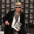 Keith Richards fait la promotion de son autoboigraphie LIFE à Londres en novembre 2010