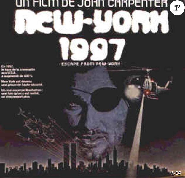 Kurt Russel dans New York 1997, de John Carpenter, sorti en 1981.