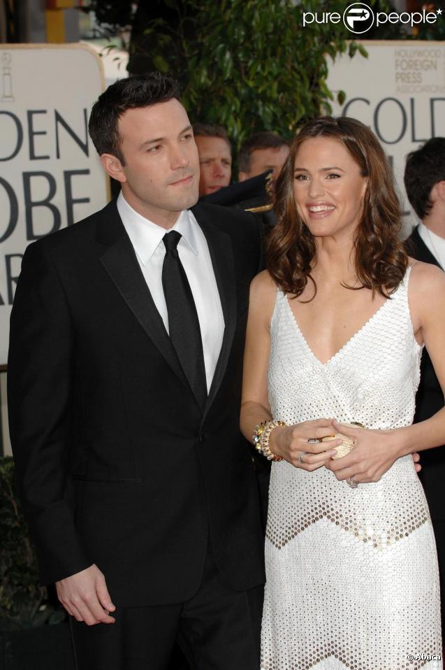 Ben Affleck et Jennifer Garner en janvier 2007