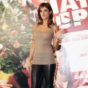 """Elisabetta Canalis : Sans George Clooney, elle mise sur le look """"G.I. sexy""""..."""