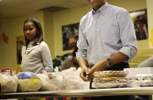Barack Obama : Avec ses deux filles et son épouse, il veut être un héros !