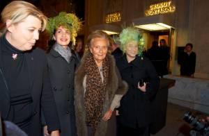 Bernadette Chirac : Chic et tendance pour une soirée en vogue !