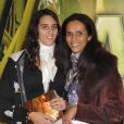 Karine Silla et sa fille Roxane Depardieu