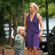 Naomi Watts et son fils Sasha