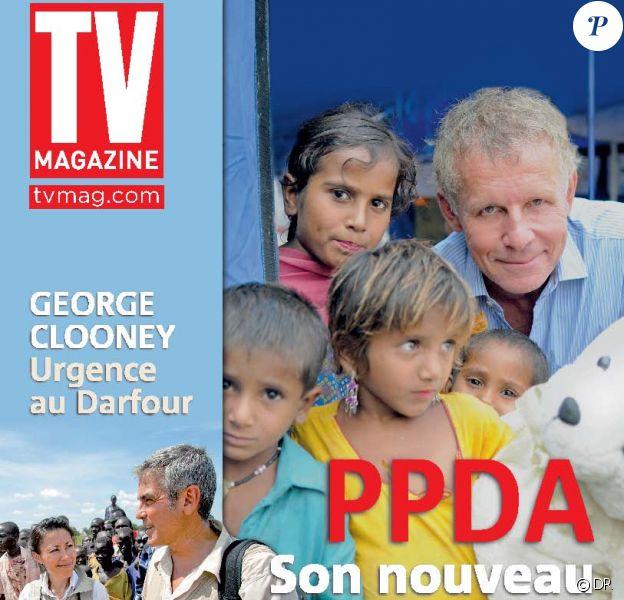 Patrick Poivre d'Arvor en couverture de TV Mag du 5 décembre 2010