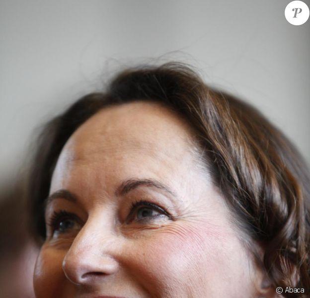 Michel Denisot et Ségolène Royal, sur le plateau du Grand Journal de Canal +.