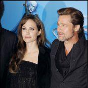 Découvrez Brad Pitt et Angelina Jolie tellement glamour sur les Champs-Elysées !