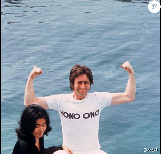 John Lennon et Yoko Ono, Festival de Cannes, mai 1971