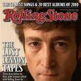 John Lennon en couverture de  Rolling Stone , décembre 2010