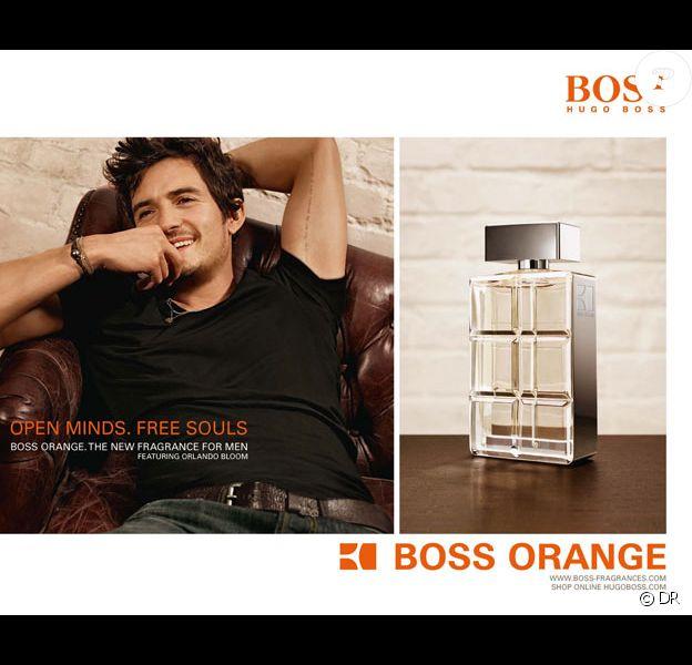 Orlando Bloom, égérie du parfum Hugo Boss Orange.