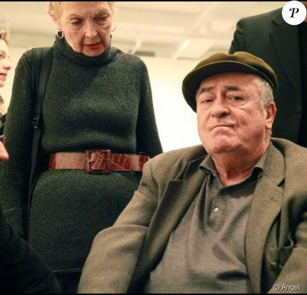 Bernardo Bertolucci à l'occasion de l'inauguration de son exposition de photographies, à New York, le 16 décembre 2010.