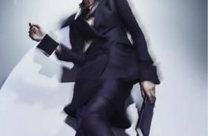 Elisa Sednaoui en égérie Armani, l'élégance italienne faite femme...
