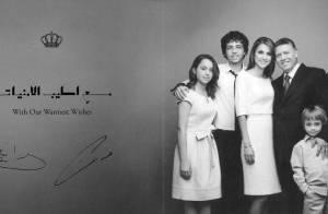 Rania de Jordanie vous souhaite une merveilleuse année avec toute sa famille !