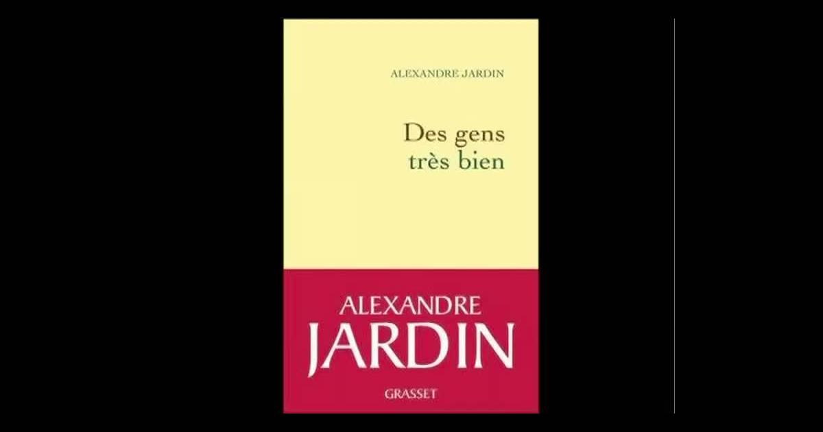 Gabriel et st phane jardin r futent le livre d 39 alexandre jardin des gens tr s bien au micro - Alexandre jardin des gens tres bien ...