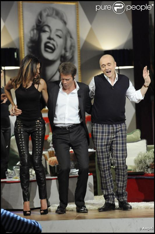 Emmanuel Philibert danse avec Belen Rodriguez, briseuse de couple ! 12/01/2011