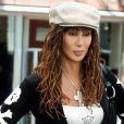 Cher sur le plateau du film Stuck on You en janvier 2004