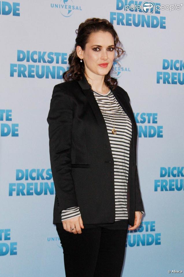 La ravissante Winona Ryder à l'occasion de la présentation allemande du  Dilemme , à Berlin, le 17 janvier 2011.