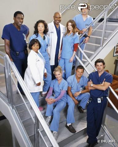 Le casting initial de  Grey's Anatomy , débarquée sur nos écrans en 2006.