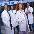 """Petit souvenir avec le casting du flop de TF1, """"  l'hôpital  """" composé de 6 épisodes et c'était déjà trop."""