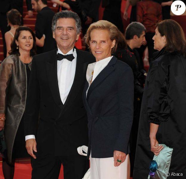 Christine Ockrent et Alain de Pouzilhac, Cannes, mai 2009