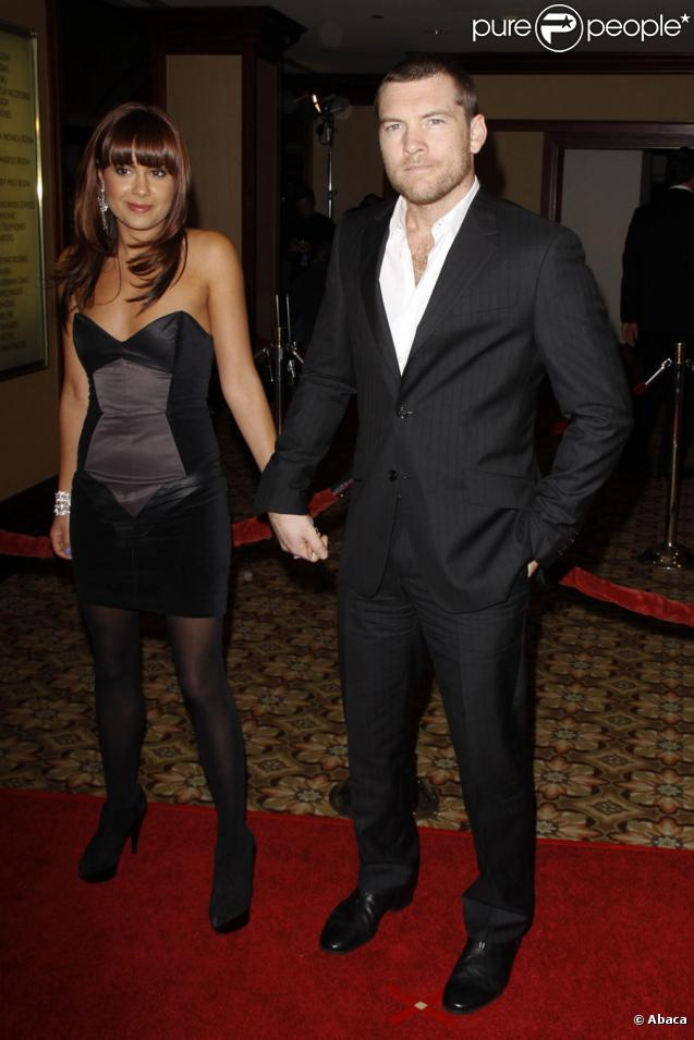 Sam Worthington couple