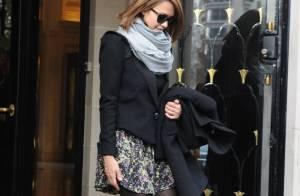 Jessica Alba : Shopping incognito à Paris...