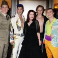 """Priscilla Presley reçoit la distinction """"Femme de l'année"""" au Nevada Ballet Black and White, au Aria MGM Hotel, à Las Vegas, le 29 janvier 2011"""