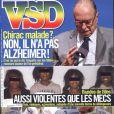 La couverture de VSD, en kiosque le 3 février 2011