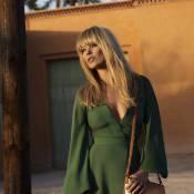 Kate Moss devient une jeune fille des seventies pour Longchamp...