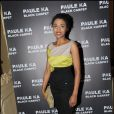 Sara Martins à la présentation de la collection Black Carpet de Paule Ka au Carmen à Paris, le 8 février 2011.